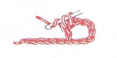 Филейная сетка с пустыми и заполненными клеточками, выполненная столбиками с накидом (фото 1)