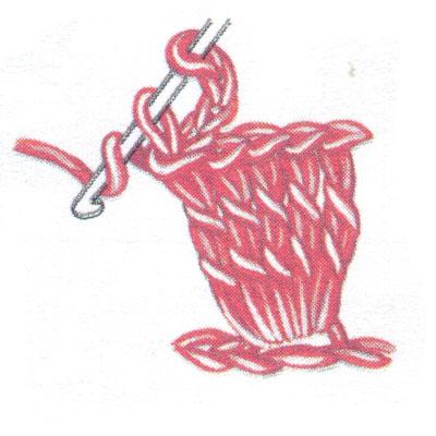 Пико (пк) со столбиком без накида (фото 3)
