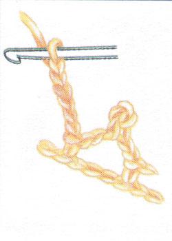 Пико (пк) с полустолбиком без накида (фото 1)